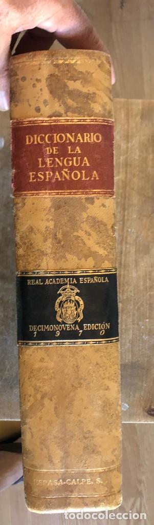Diccionarios de segunda mano: DICCIONARIO REAL ACADEMIA DE LA LENGUA ESPAÑOLA - Foto 3 - 263190475