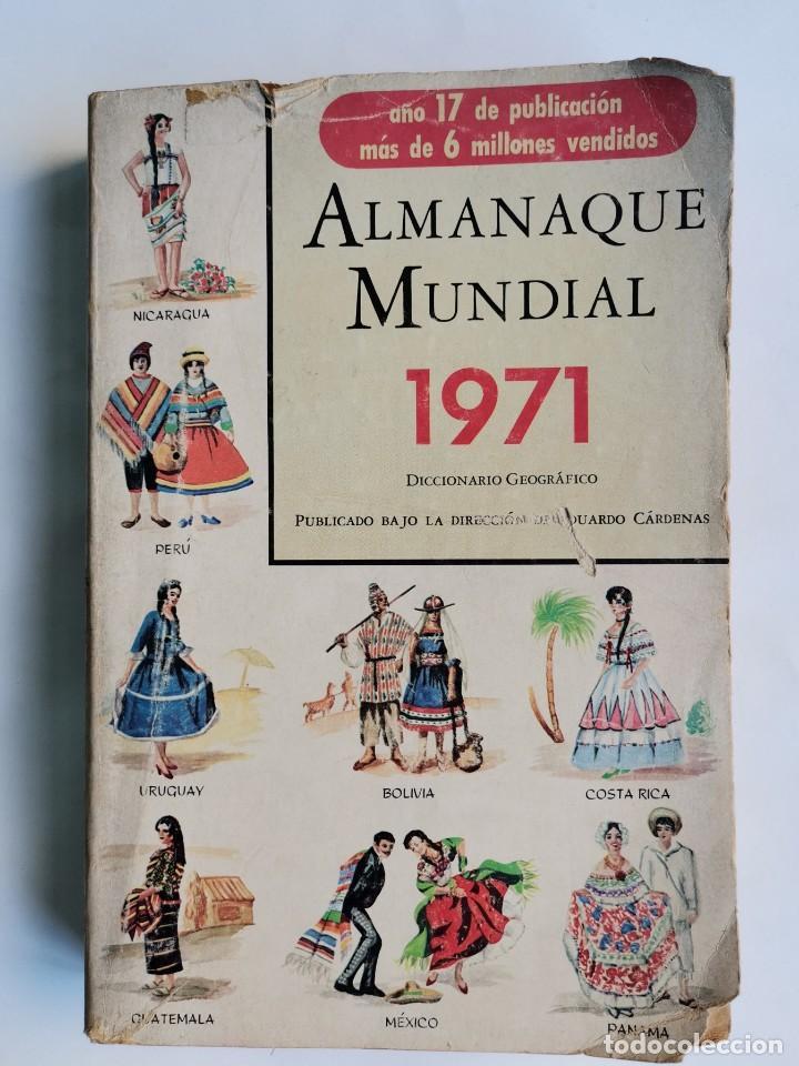 ALMANAQUE MUNDIAL 1971 DICCIONARIO GEOGRÁFICO (Libros de Segunda Mano - Diccionarios)