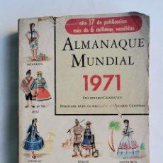 Diccionarios de segunda mano: ALMANAQUE MUNDIAL 1971 DICCIONARIO GEOGRÁFICO. Lote 263209990