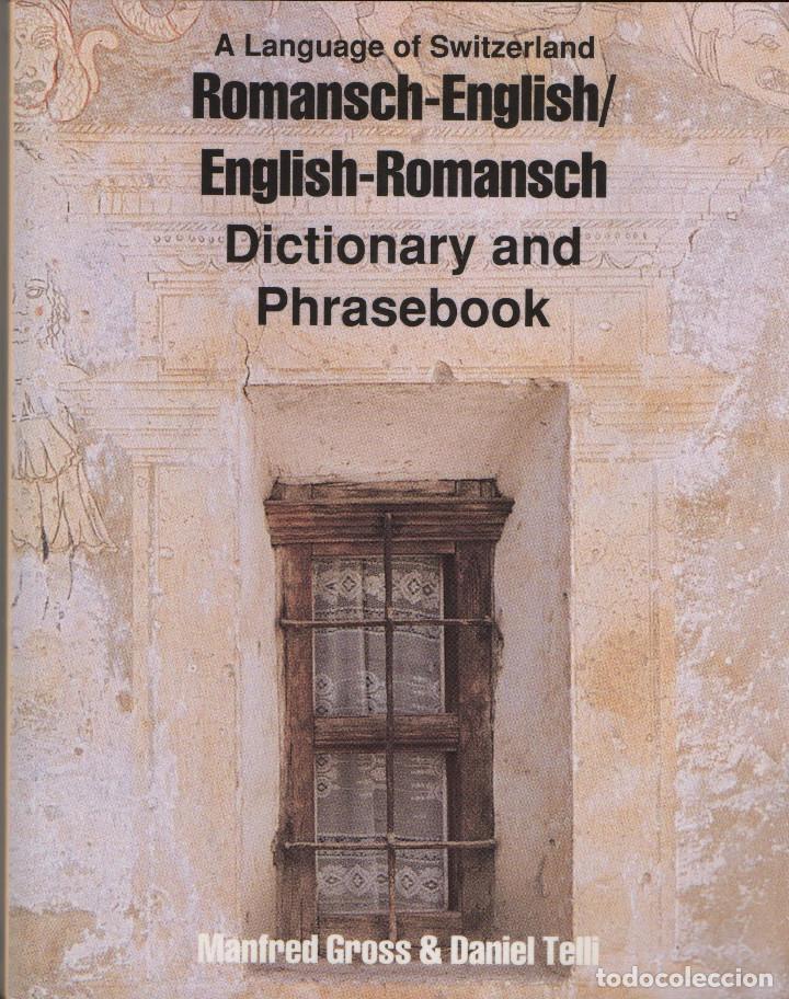 ROMANSCH-ENGLISH/ENGLISH-ROMANSCH.DICTIONARY AND PHRASEBOOK.VVAA.HIPPOCRENEBOOKS.2000. (Libros de Segunda Mano - Diccionarios)
