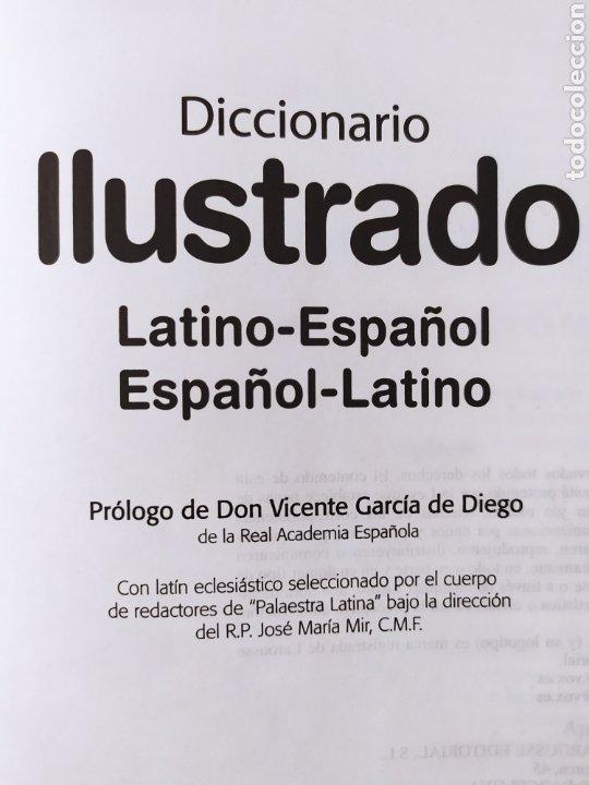 Diccionarios de segunda mano: DICCIONARIO ILUSTRADO LATINO-ESPAÑOL & ESPAÑOL-LATINO / VOX. 2011 - Foto 2 - 263257960