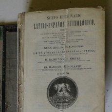 Diccionarios de segunda mano: DICCIONARIO LATINO-ESPAÑOL ETIMOLÓGICO. RAIMUNDO DE MIGUEL. 23 EDICIÓN. MADRID 1943. IN FOLIO M HOLA. Lote 263265355