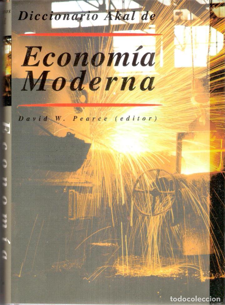 DICCIONARIO DE ECONOMIA MODERNA - DAVID W. PEARCE (Libros de Segunda Mano - Diccionarios)