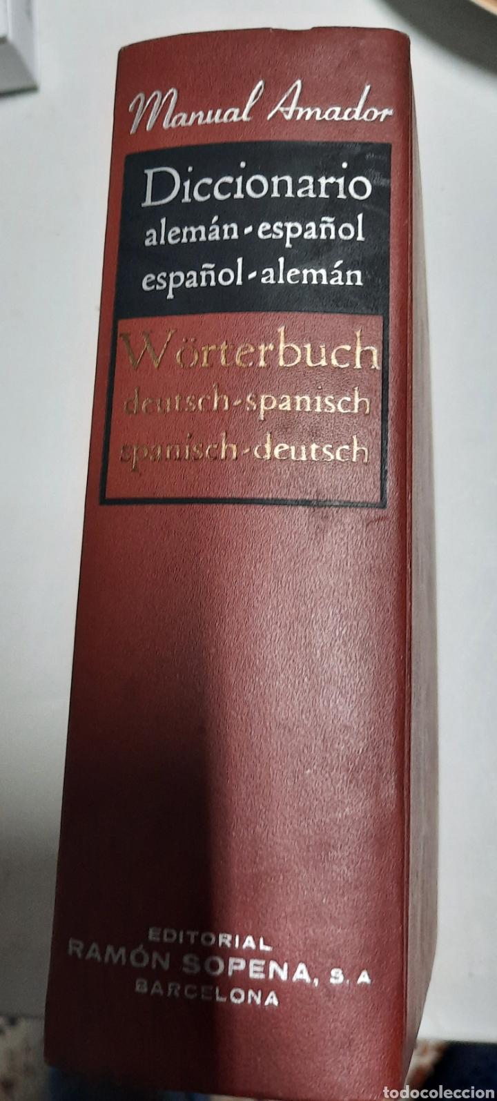 DICCIONARIO ALEMÁN- ESPAÑOL. MANUAL AMADOR (Libros de Segunda Mano - Diccionarios)