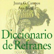 Diccionarios de segunda mano: DICCIONARIO DE REFRANES DE LA REAL ACADEMIA ESPAÑOLA. Lote 263687030