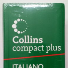 Diccionarios de segunda mano: COLLINS COMPACT PLUS ESPAÑOL – ITALIANO. NUEVO PRECINTADO!!!. Lote 263719660