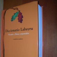 Diccionarios de segunda mano: DICCIONARIO LABAYRU / VIZCAÍNO Y BATUA CONJUNTADOS / CASTALLANO- EUSKERA. Lote 263806805
