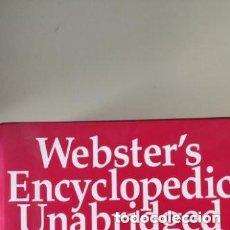 Diccionarios de segunda mano: WEBSTER'S ENCYCLOPEDIC UNABRIDGED DICTIONARY OF THE ENGLISH LANGUAGE.. Lote 264061980