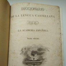 Diccionarios de segunda mano: AÑO 1822: DICCIONARIO DE LA LENGUA CASTELLANA POR LA ACADEMIA ESPAÑOLA, IMPRENTA NACIONAL. Lote 264544534