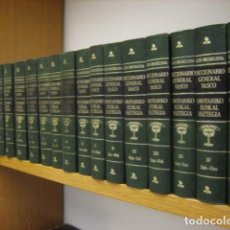 Libri di seconda mano: OROTARIKO EUSKAL HIZTEGIA - DICCIONARIO GENERAL VASCO 16 TOMOS COMPLETA. Lote 264234784