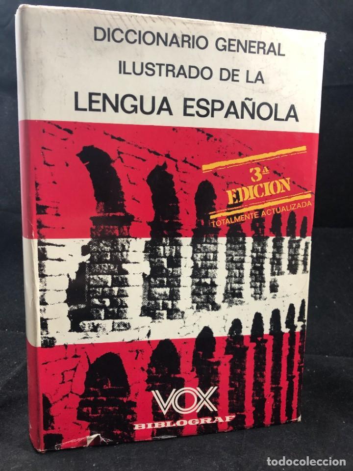 VOX DICCIONARIO GENERAL ILUSTRADO DE LA LENGUA ESPANOLA. RAMON MENENDEZ PIDAL, SAMUEL GILI GAYA 1970 (Libros de Segunda Mano - Diccionarios)