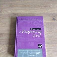 Libri di seconda mano: DICCIONARI D'ENGINYERIA CIVIL. CIÈNCIA I TECNOLOGIA.. Lote 133422458