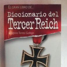 Diccionarios de segunda mano: DICCIONARIO DEL TERCER REICH - GREGORIO TORRES/ TIKAL. Lote 266760613