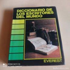 Diccionarios de segunda mano: DICCIONARIO DE LOS ESCRITORES DEL MUNDO. PIERRE BRUNEL. ROBERT JOUANNY. 1988. ED.EVEREST. 622 PAGS.. Lote 267313954
