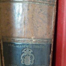 Libri di seconda mano: DICCIONARIO REAL ACADEMIA ESPAÑOLA 1939 AÑO DE LA VICTORIA.. Lote 267317489