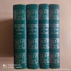 Diccionarios de segunda mano: DICCIONARIO GEOGRAFICO DE AGOSTINI. 1988.OBRA COMPLETA EN 4 TOMOS. 1972 PAGINAS LOS 4 TOMOS.. Lote 267336024