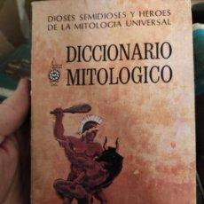 Diccionarios de segunda mano: DICCIONARIO MITOLÓGICO.- GAYTÁN, CARLOS. Lote 268940924