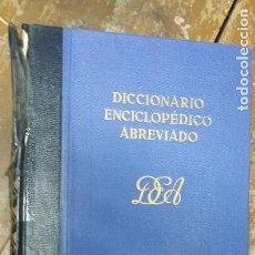 Diccionarios de segunda mano: DICCIONARIO ENCICLOPÉDICO ABREVIADO, ESPASA CALPE S.A.TOMO II. Lote 268957464