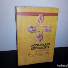 Diccionarios de segunda mano: 25- DICCIONARIO DE FILOSOFÍA - DAGOBERT D. RUNES. Lote 269038053