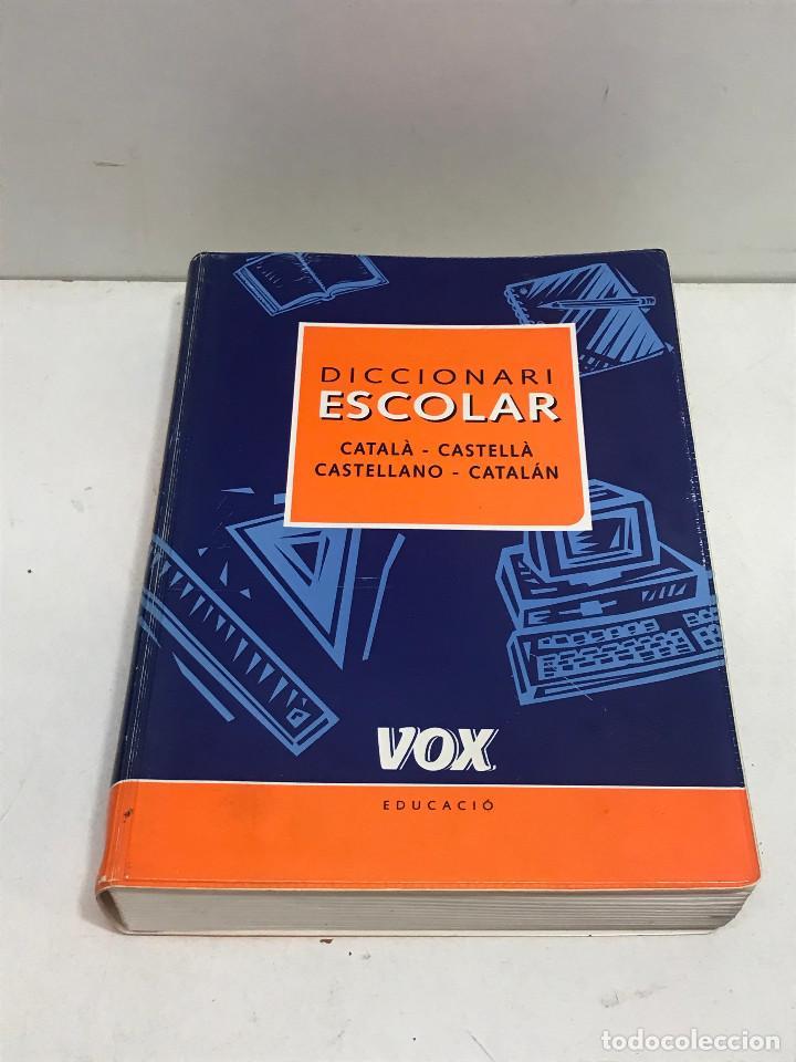 DICCIONARI ESCOLAR CATALÀ-CASTELLÀ VOX EDUCACIÓ SPES EDITORIAL MARZO 2002 (Libros de Segunda Mano - Diccionarios)