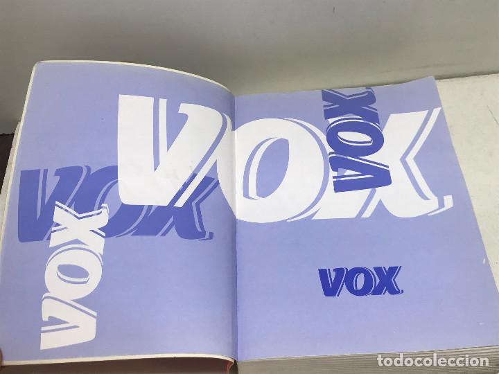 Diccionarios de segunda mano: DICCIONARI ESCOLAR CATALÀ-CASTELLÀ VOX EDUCACIÓ SPES EDITORIAL MARZO 2002 - Foto 2 - 269050303