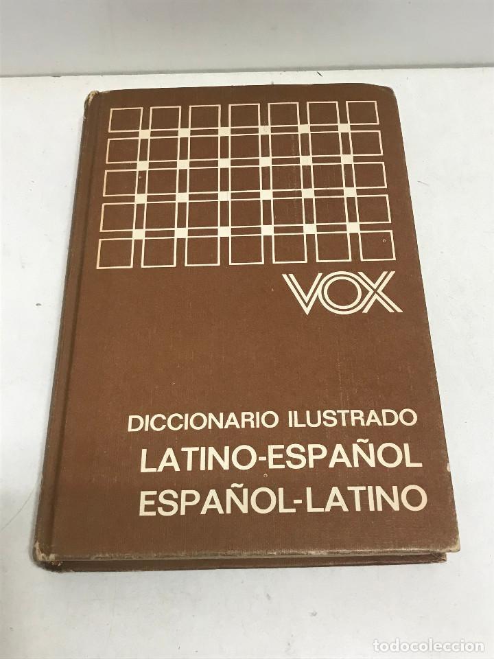 DICCIONARIO VOX ILUSTRADO ESPAÑOL-LATÍNO / LATINO-ESPAÑOL BIBLOGRAF AÑO 1980 (Libros de Segunda Mano - Diccionarios)