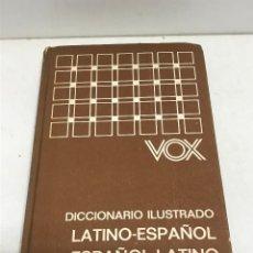 Diccionarios de segunda mano: DICCIONARIO VOX ILUSTRADO ESPAÑOL-LATÍNO / LATINO-ESPAÑOL BIBLOGRAF AÑO 1980. Lote 269051773