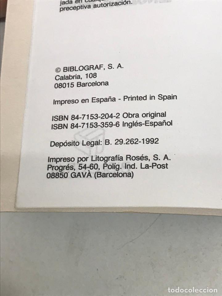 Diccionarios de segunda mano: DICCIONARIO VOX INGLÉS-ESPAÑOL CURSO DE INGLÉS. ENGLISH NOW BIBLOGRAF AÑO 1992 - Foto 2 - 269051933