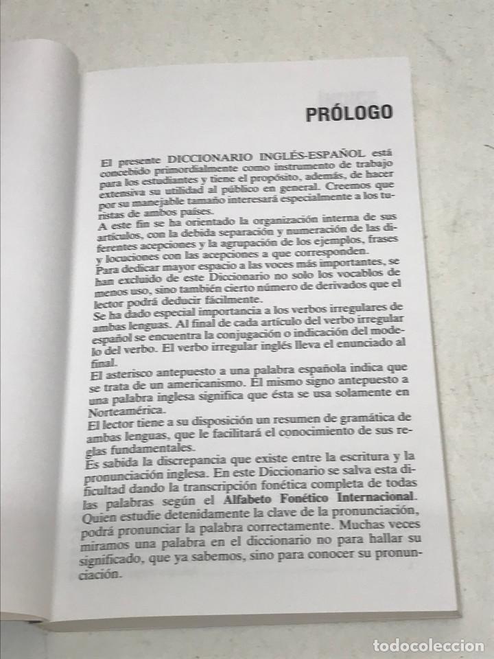 Diccionarios de segunda mano: DICCIONARIO VOX INGLÉS-ESPAÑOL CURSO DE INGLÉS. ENGLISH NOW BIBLOGRAF AÑO 1992 - Foto 3 - 269051933