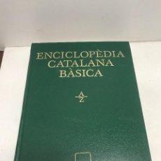 Diccionarios de segunda mano: ENCICLOPEDIIA CATALANA BÁSICA A/Z EL PERIÓDICO DE CATALUNYA AÑO 1996. Lote 269053778