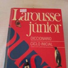 Diccionarios de segunda mano: 48506 - LAROUSSE JUNIOR - DICCIONARIO INICIAL - EDITORIAL LAROUSSE - AÑO 1992. Lote 269338528