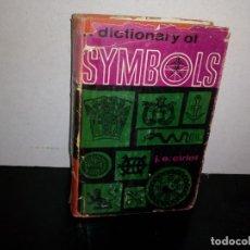 Diccionarios de segunda mano: 32- INGLÉS - DICCIONARIO DE SÍMBOLOS / DICTIONARY OF SYMBOLS - J. E. CIRLOT - 1962. Lote 269831148