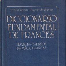 Diccionarios de segunda mano: DICCIONARIO FUNDAMENTAL DE FRAMNCÉS. Lote 269935628
