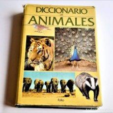 Diccionarios de segunda mano: DICCIONARIO DE ANIMALES - 20 X 27.CM. Lote 270345868