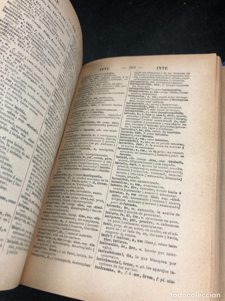 Diccionarios de segunda mano: DICCIONARIO MANUAL LATINO-ESPAÑOL.JIMENEZ LOMAS.1889, deteriorado - Foto 4 - 270867588