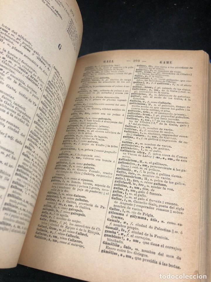 Diccionarios de segunda mano: DICCIONARIO MANUAL LATINO-ESPAÑOL.JIMENEZ LOMAS.1889, deteriorado - Foto 5 - 270867588