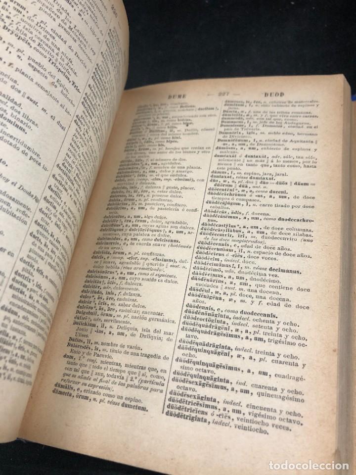 Diccionarios de segunda mano: DICCIONARIO MANUAL LATINO-ESPAÑOL.JIMENEZ LOMAS.1889, deteriorado - Foto 7 - 270867588