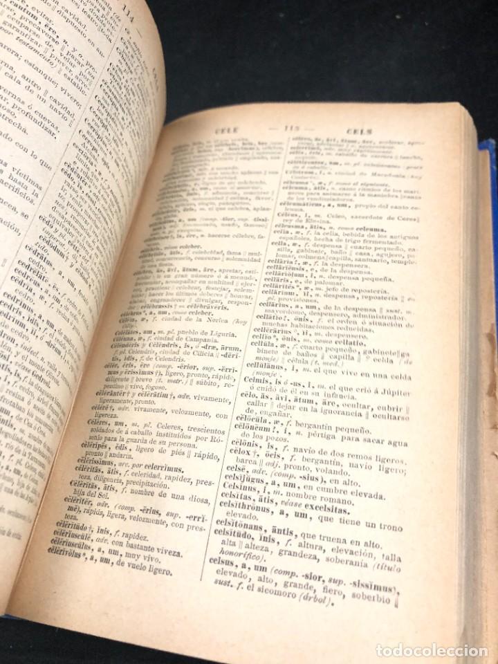 Diccionarios de segunda mano: DICCIONARIO MANUAL LATINO-ESPAÑOL.JIMENEZ LOMAS.1889, deteriorado - Foto 8 - 270867588