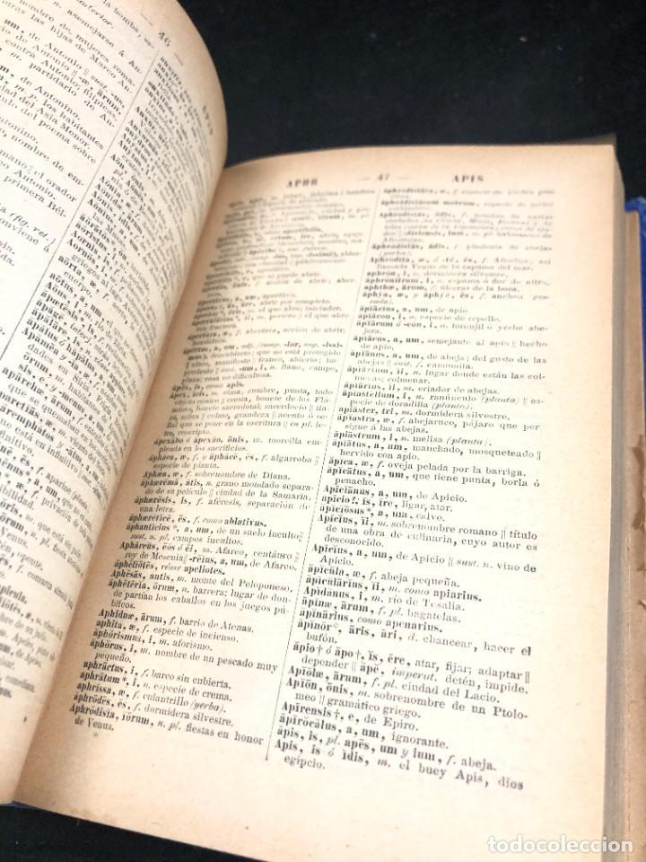 Diccionarios de segunda mano: DICCIONARIO MANUAL LATINO-ESPAÑOL.JIMENEZ LOMAS.1889, deteriorado - Foto 10 - 270867588