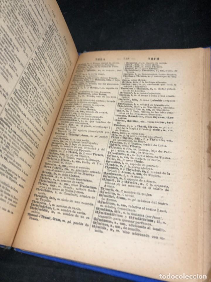 Diccionarios de segunda mano: DICCIONARIO MANUAL LATINO-ESPAÑOL.JIMENEZ LOMAS.1889, deteriorado - Foto 12 - 270867588