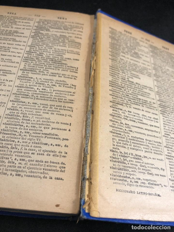 Diccionarios de segunda mano: DICCIONARIO MANUAL LATINO-ESPAÑOL.JIMENEZ LOMAS.1889, deteriorado - Foto 13 - 270867588