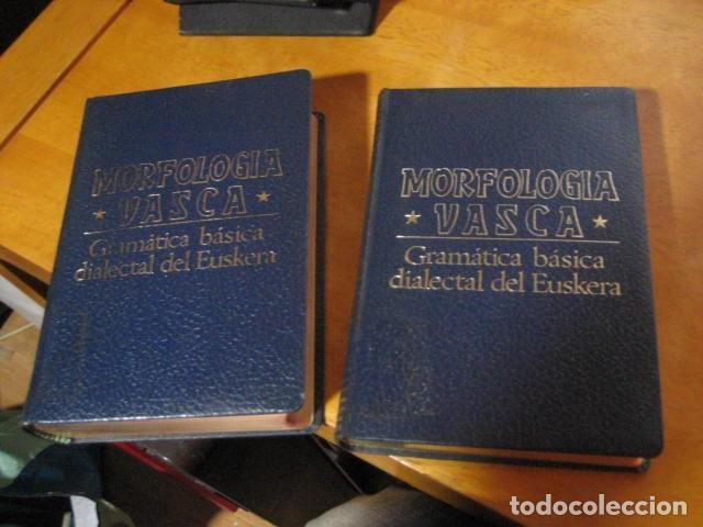 Diccionarios de segunda mano: GRAMATICA BASICA DIALECTAL DEL EUSKERA. MORFOLOGIA VASCA. tomos 1 y 2 / AZKUE ALTUBE - Foto 5 - 270871793