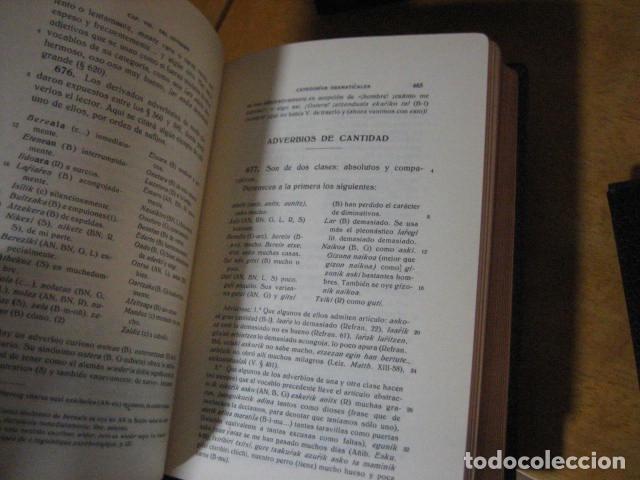 Diccionarios de segunda mano: GRAMATICA BASICA DIALECTAL DEL EUSKERA. MORFOLOGIA VASCA. tomos 1 y 2 / AZKUE ALTUBE - Foto 14 - 270871793
