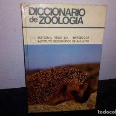 Diccionarios de segunda mano: 40- DICCIONARIO DE ZOOLOGÍA - EDITORIAL TEIDE. Lote 271019718
