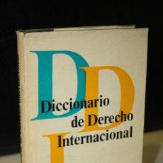 Diccionarios de segunda mano: DICCIONARIO DE DERECHO INTERNACIONAL.- EDITORIAL PROGRESO.. Lote 271027798