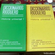 Diccionarios de segunda mano: LOTE DE 2 DICCIONARIOS RÍO DUERO. Lote 271397583