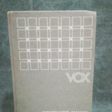 Libri di seconda mano: DICCIONARIO MANUAL GRIEGO ESPAÑOL - J. M. PABÓN - VOX. Lote 274311488