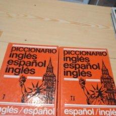 Diccionarios de segunda mano: G-86 LIBRO DOS TOMOS DICCIONARIO INGLES ESPAÑOL NAUTA. Lote 276210493