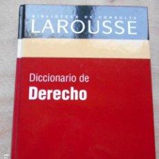 Diccionarios de segunda mano: DICCIONARIO DE LAROUSSE DE DERECHO. Lote 276665228