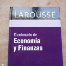 Diccionarios de segunda mano: DICCIONARIO DE LAROUSSE DE ECONONÍAYFINANZAS. Lote 276665908